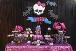 Idéias para festa Monsters High
